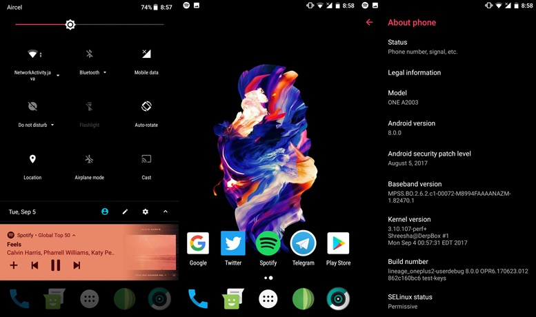 android custom rom zip download