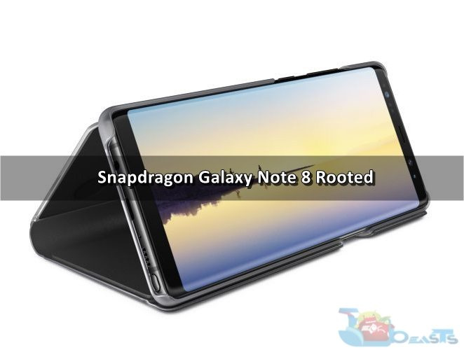 Root Snapdragon Galaxy Note 8 with SamFAIL