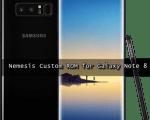 Galaxy Note 8 Nemesis ROM