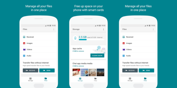 Files Go is Google's latest file manager and here's how you can get it on your phone