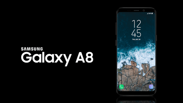 Galaxy A8 (2018) rumored to be launched in three colors and feature a Galaxy S8-like design