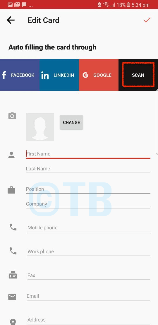 Scan a business card and save it to your contacts for Scan business cards into google contacts