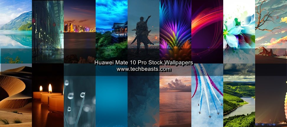 Download Huawei Mate 10 Pro Stock Wallpapers