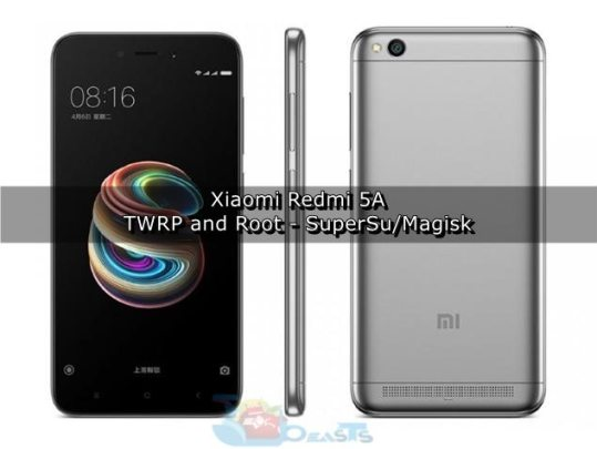 Install TWRP Custom Recovery and Root Xiaomi Redmi 5A