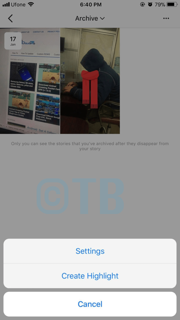 Instagram: Create Story Highlights