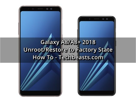 Unroot Galaxy A8/A8+ 2018