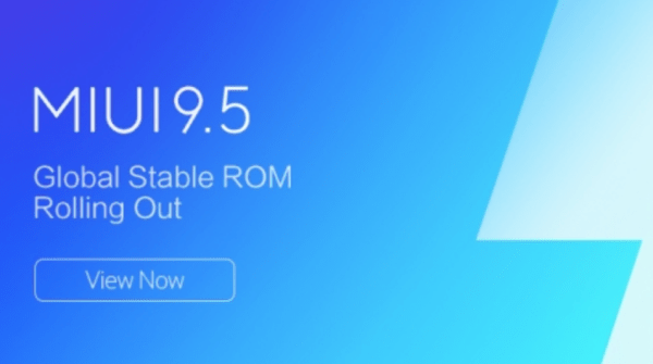 MIUI 9.5 Global Stable ROM