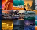 Download Nokia 7 & 7 Plus Stock Wallpapers