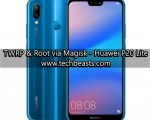Install TWRP Recovery and Root Huawei P20 Lite
