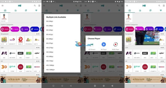 watch FIFA World Cup 2018 on Android Free