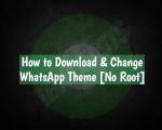 Change WhatsApp Theme