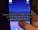 Upgrade Touchscreen Firmware of Samsung Galaxy
