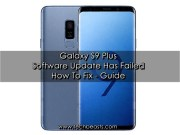 Galaxy S9 Plus update failed error