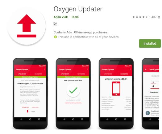 Oxygen Updater APK