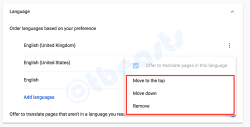 how to change open page on google chrome