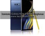Galaxy Note 9 Stock Ringtones