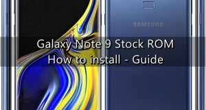 Galaxy Note 9 Stock ROM