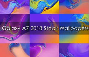 Galaxy A7 2018 Stock Wallpapers