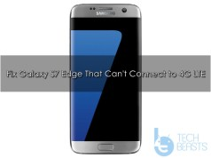 fix Galaxy S7 Edge can't connect to 4G LTE