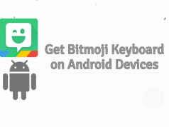 Bitmoji Keyboard on Android