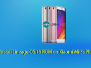 Lineage OS 16 ROM on Xiaomi Mi 5s Plus
