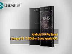 Lineage OS 16 ROM on Sony Xperia XA2