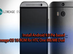 Lineage OS 16 ROM for HTC One M8
