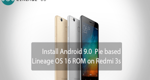 Lineage OS 16 ROM on Redmi 3s