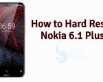 Hard Reset Nokia 6.1 Plus