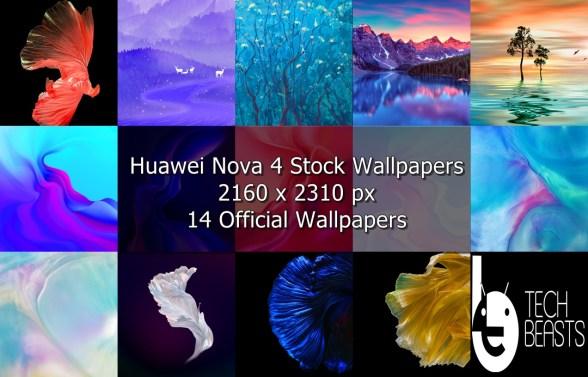 Huawei Nova 4 Stock Wallpapers