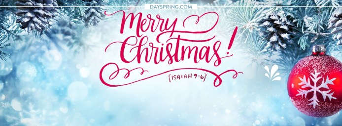 Happy Merry Christmas 2018 Facebook Cover