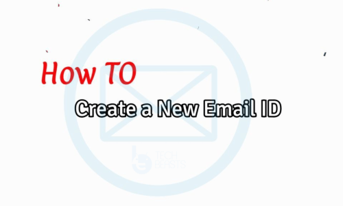 create a new Email ID