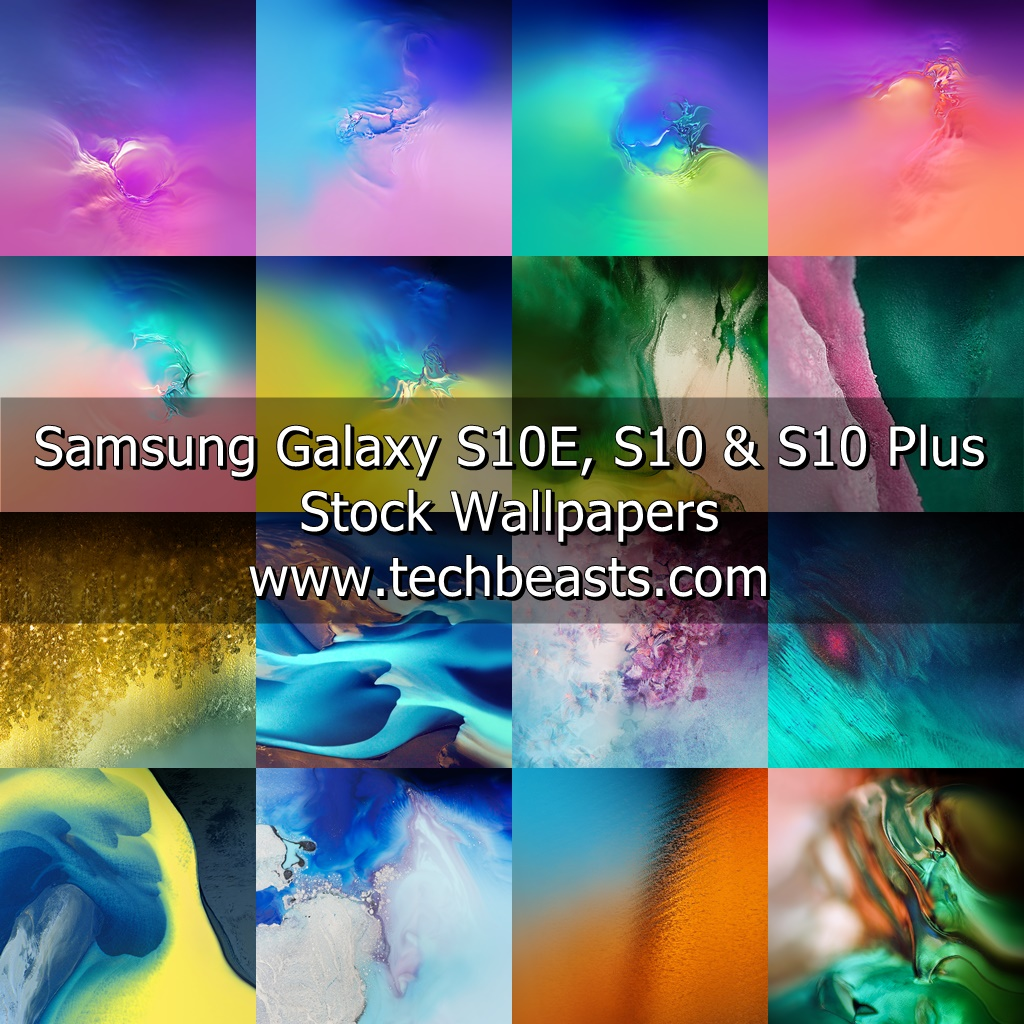 Download Samsung Galaxy S10 Stock Wallpapers Techbeasts