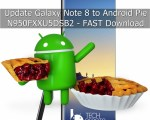 Update Galaxy Note 8 to Android Pie