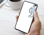 Wallpapers to hide Galaxy S10 Plus Camera Cutout