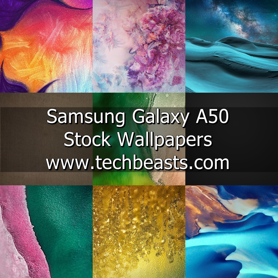 Download Samsung Galaxy A50 Stock Wallpapers