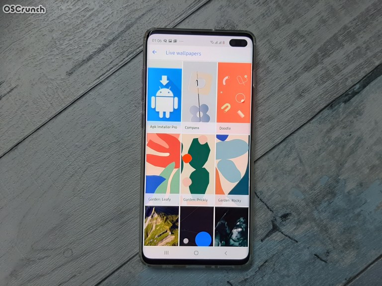 Pixel 4 and 4XL Live Wallpapers on my Galaxy S10 Plus