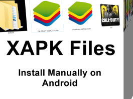 manually install XAPK files on Android