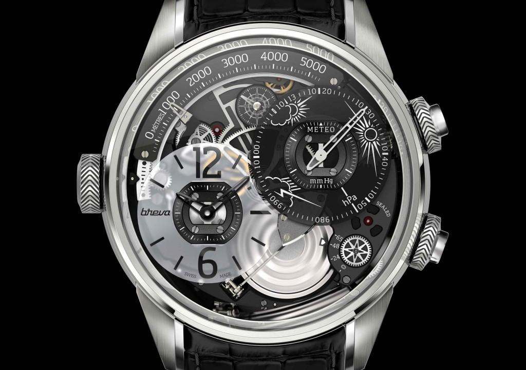 Breva Genie 01: The Mechanical Weather Watch