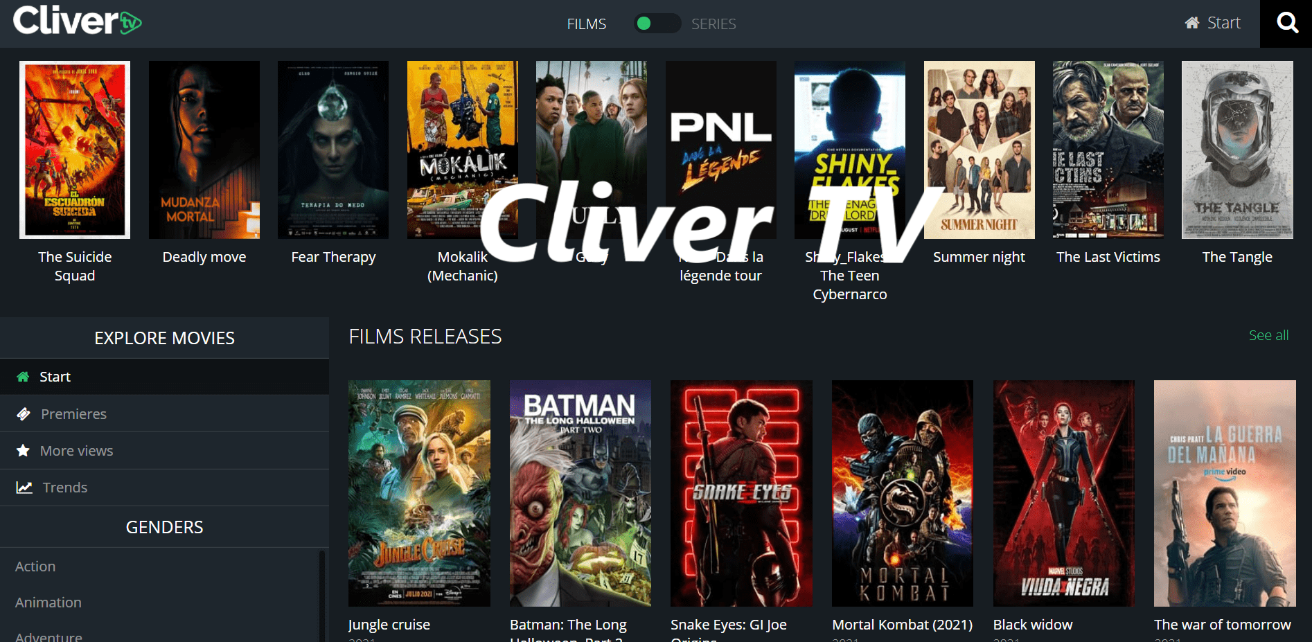 Alternatives Of Cliver Tv To Watch Series And Movies In Streaming Techbenzy