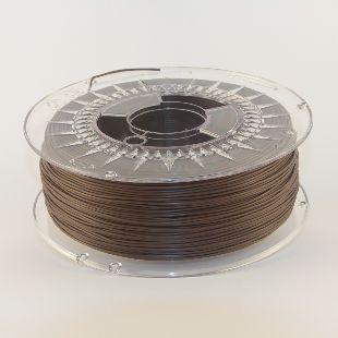 Filament PLA 1,75mm chokolade brun (Made in Europe)