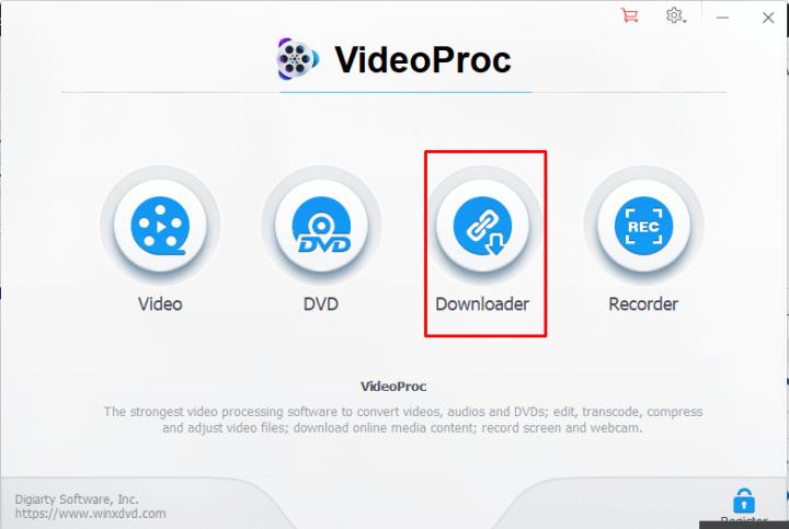 downloader option