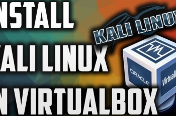 how to install kali linux on virtualbox