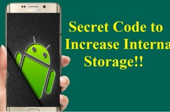 Increase Internal Storage