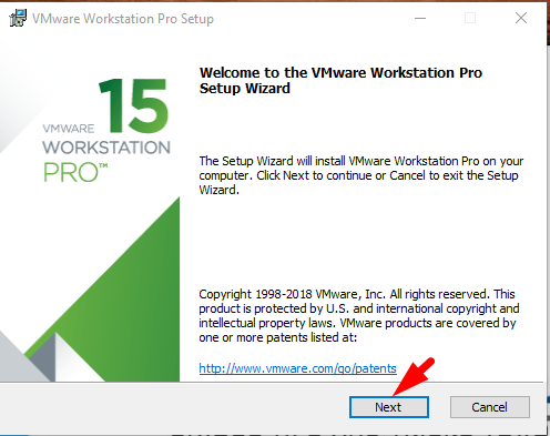 how to install wmware on windows