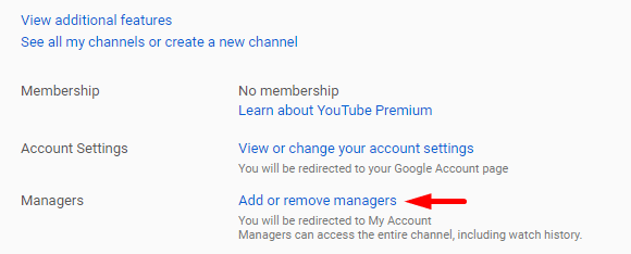 Add or Remove Manager
