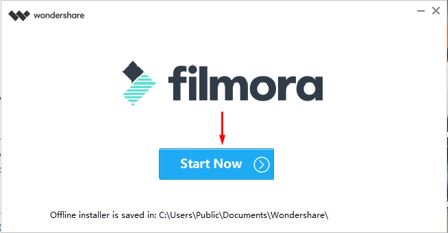 start with filmora to convert video to mp3