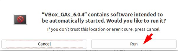 Run Virtualbox on ubuntu