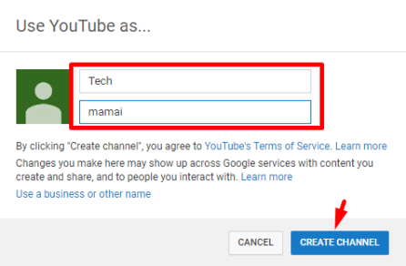 create channel