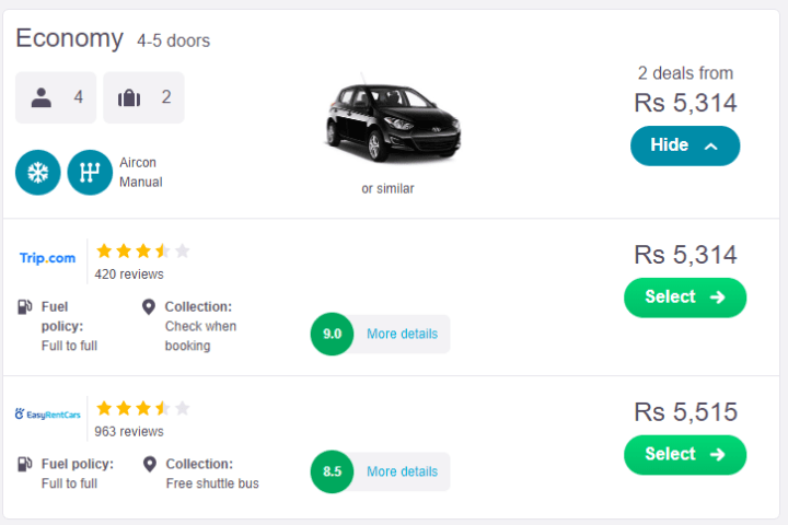 How to Book a Flight, Hotel, and Car: Step by Step (with Picture)